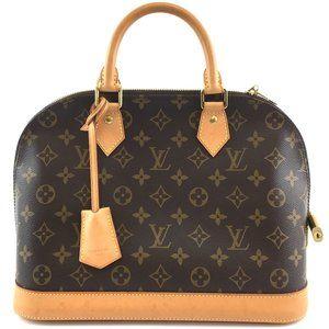 Alma Neo Pm New Model Hand Tote Brown bag